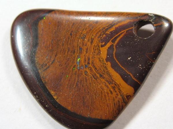 YOWAHOPALS*22.60ct -Boulder Matrix  Opal - PENDANT -