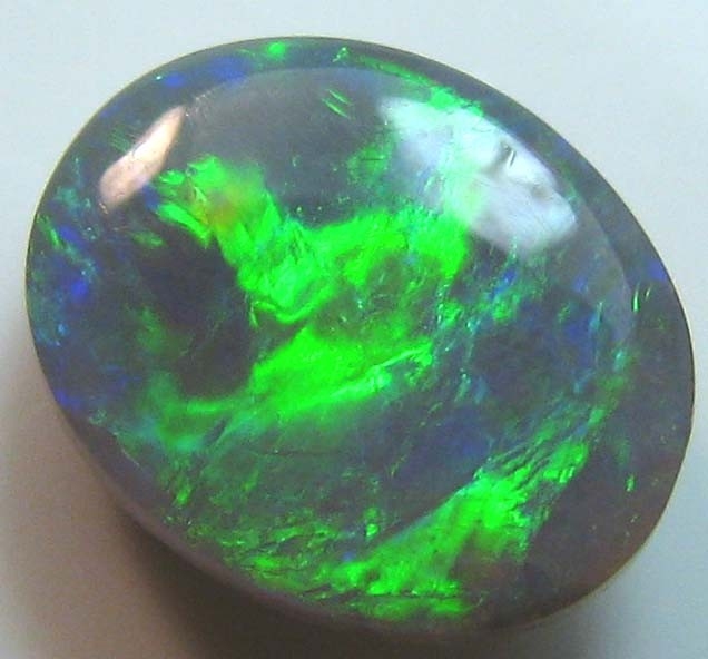 0.80 CTBRIGHT BEAUTIFUL SOLID NATURAL BLACK OPAL COLOUR PLAY A180