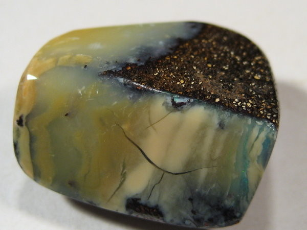 YOWAHOPALS*18.75ct Boulder Opal - DRILLED for  PENDANT