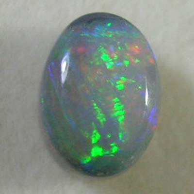 *ONA* NATURAL SOLID BLACK OPAL Natures Art  1.37ct [08PS]102