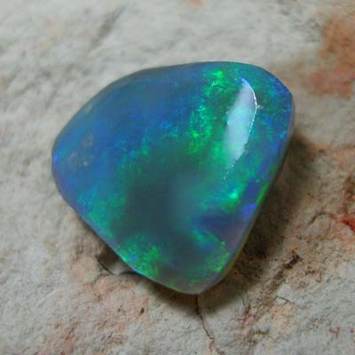 *ONA*  ROUGH RUB  L / RIDGE BLACK OPAL 3.09ct 0908/RR44