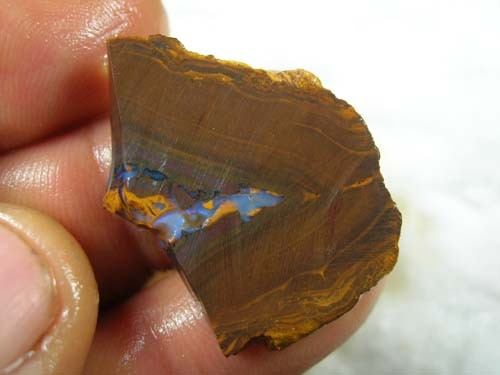*ONA*  SLABED ROUGH BOULDER OPAL MATRIX   40ct 08BM/26