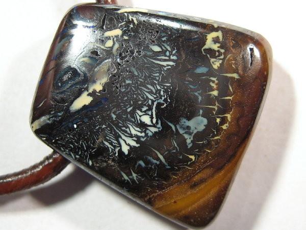 YOWAHOPALS*42.25ct Koroit Matrix Opal - DRILLED OPAL
