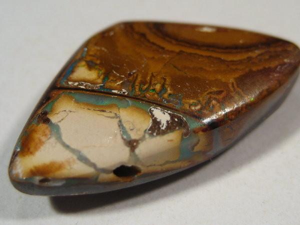 YOWAHOPALS*12.75ct Boulder Opal - PENDANT  -Drilled-