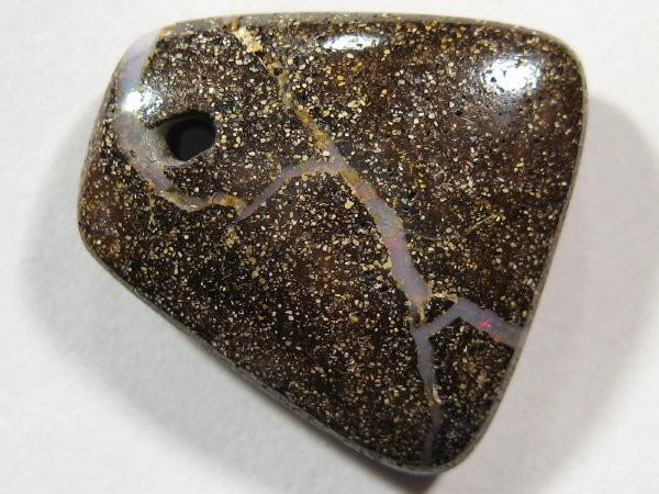 YOWAHOPALS*17.30ct Boulder Opal - PENDANT  -Drilled-