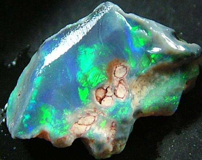 ROUGH FACED OPAL FROM LIGHTNING RIDGE 2.8 CTS [BR434 ]