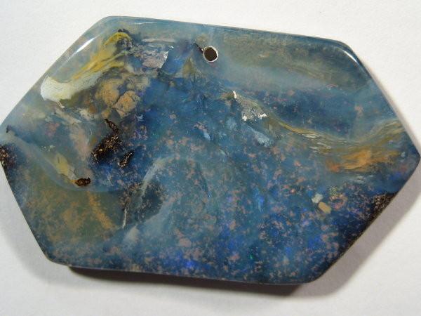 YOWAHOPALS*68.50ct Aussie Boulder Opal- Drilled