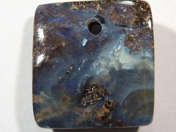 YowahOpals* 24.85ct Natural Beautiful Opal-DRILLED PENDANT