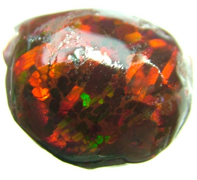 QUALITY ''BLOOD RED'' ETHIOPIAN OPAL [SG 151] 13.30CTS