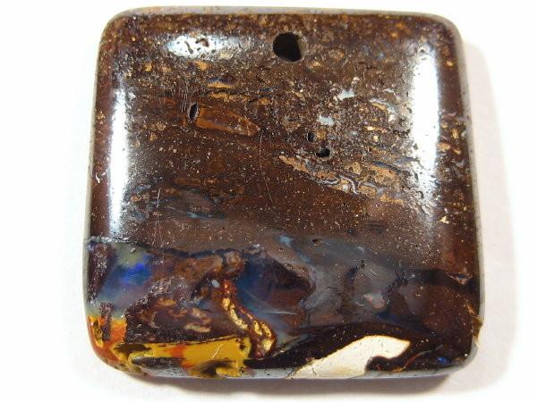 YowahRough-20.45Cts *-* Aussie Made Boulder OPAL Pendant