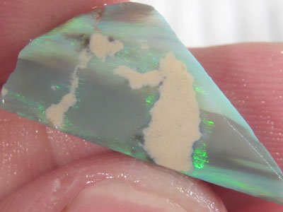 # 8.20 CTS LARGE BLACK OPAL RUB GREEN FIRE