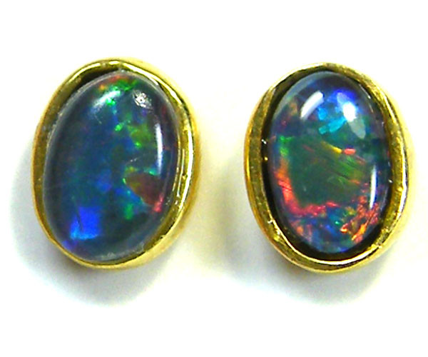 6x4  MM  TRIPLET SET  EARRINGS   SCA 2007