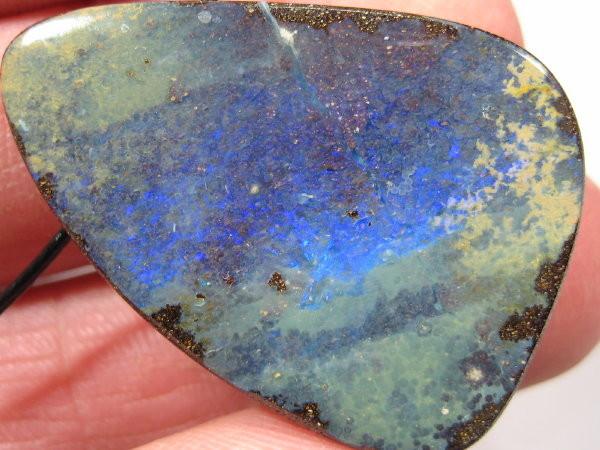 Large Boulder Opal Pendant.
