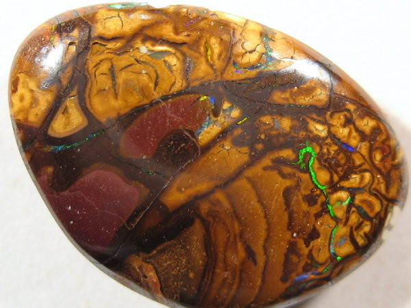 YowahRough-14.25Cts *-* Aussie Made Boulder OPAL Pendant