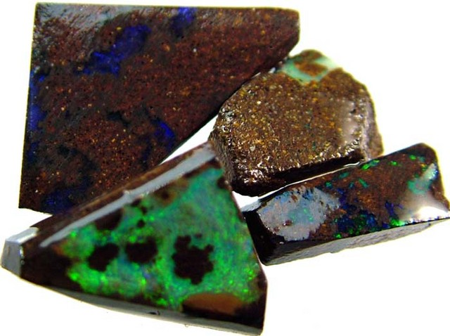 BOULDER ROUGH  PARCEL  FROM QUILPIE 25 CTS  [BY257 ]