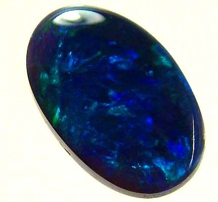 BLACK OPAL CUT STONE L.RIDGE 0.75 CTS SFJ 85