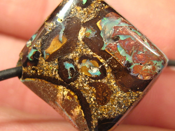YowahOpals*73.65Cts Drilled -LARGE- Bead Cube....