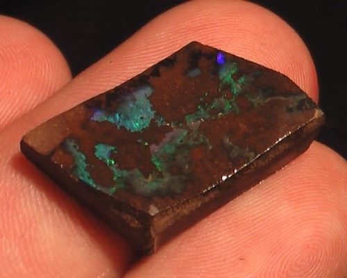 NICE BLUES & GREENS BOULDER OPAL ROUGH