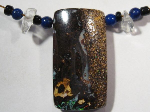 YOWAHOPALS*13.10Cts NECKLACE - Natural 'BOULDER' Opal-