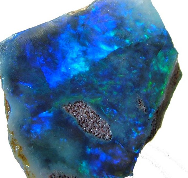 COOBER PEDY DARK BASED ROUGH 6.9 CTS [BR1060 ]