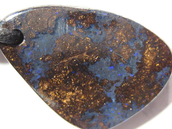 YowahOpals*12.00Cts 'Aussie' Boulder Opal - Pendant -