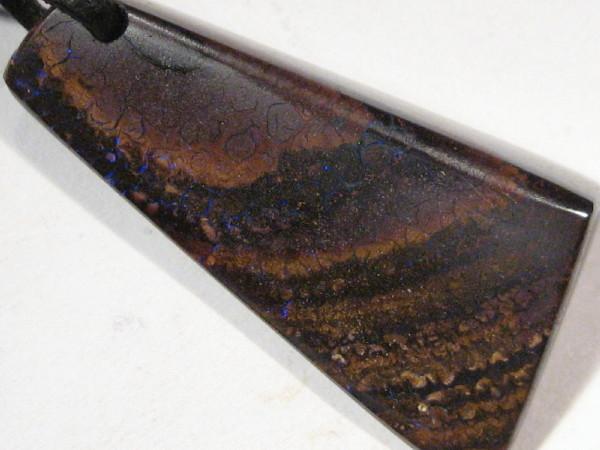 YowahOpals*23.45Cts 'Aussie' Boulder Opal - Pendant -