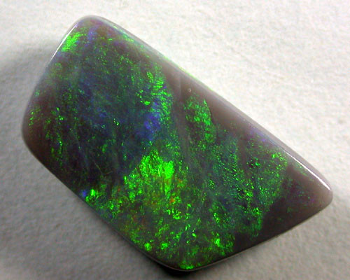 LIGHTNING RIDGE SEMI BLACK OPAL 4.60ct MB/30