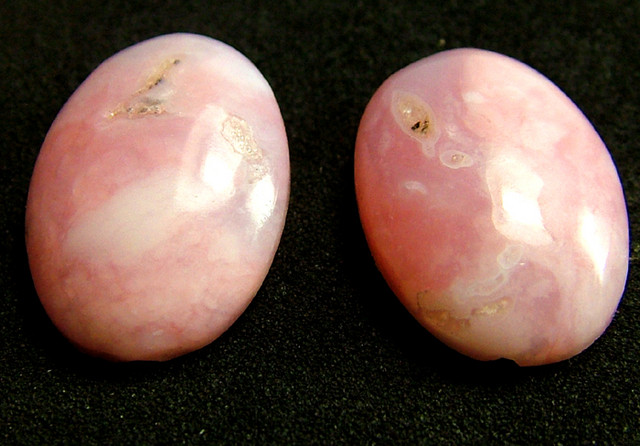 PINK OPAL -GRADE A - PAIR 12.00 CTS [VS1209 ]