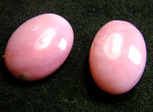 PINK OPAL -GRADE A - PAIR 12.55 CTS [VS1210 ]