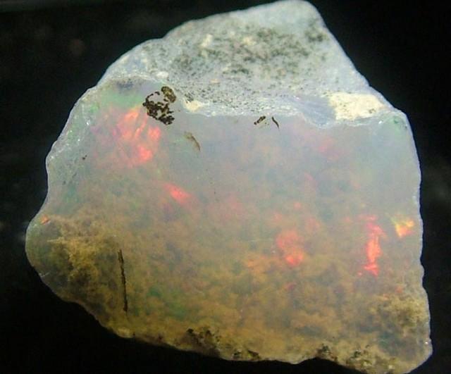 WELO  ROUGH OPAL-FIREY -ETHIOPIAN  6.9-CTS [VS1547 ]