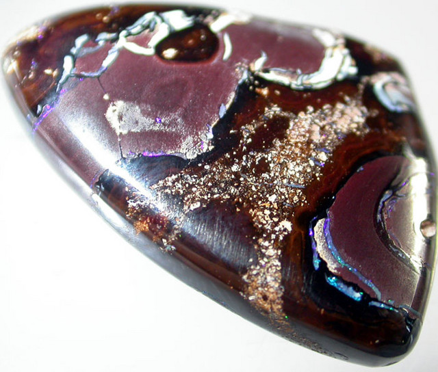 27.9 CTS DOUBLE SIDED QUALITY KORIOT STONE  [S1691]