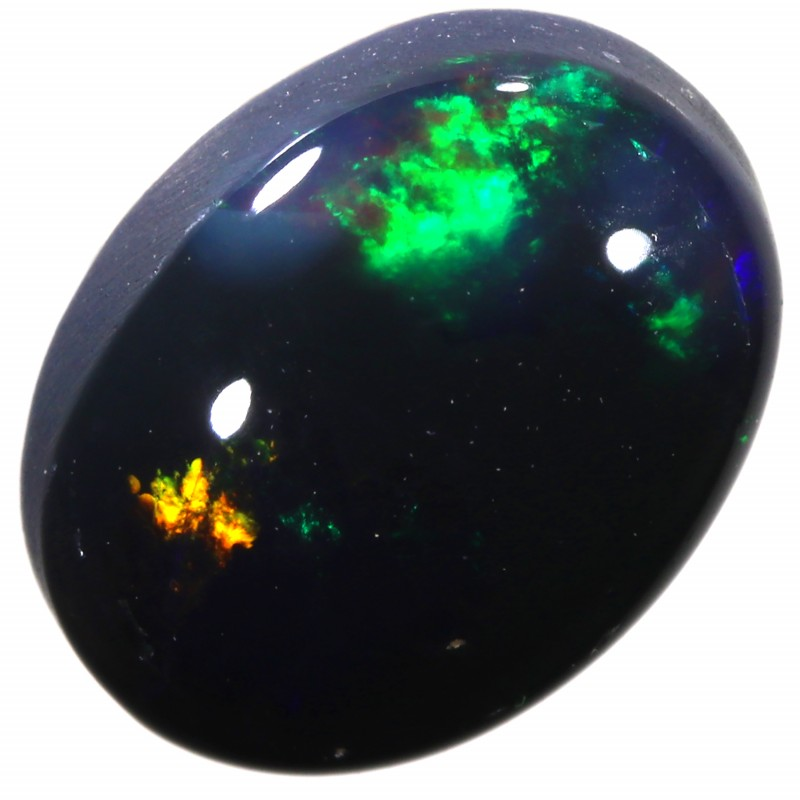 CABOCHON CUT OPAL FROM LIGHTNING RIDGE 1.55CTS A1388