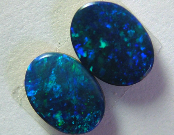 1.67 CTS BEAUTIFUL DOUBLET OPAL PAIR  AS-775