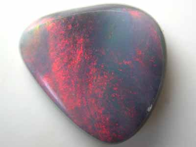 FREFORM RED FIRE BLACK OPAL FIRE 1.75CT L1943