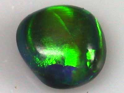 SOLID BLACK OPAL .70 CTS L2214