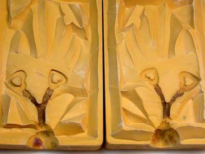Rubber Moulding Handmade Designs SCO105