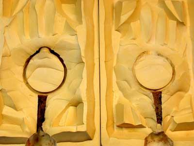 Rubber Moulding Handmade Designs SCO118