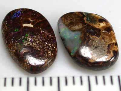 SOLID BOULDER OPAL PAIR 13.10 CTS GR890