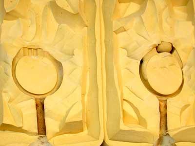Rubber Moulding Handmade Designs SCO128