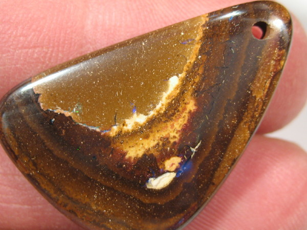 YowahOpals*34.80Cts *Boulder Opal - DRILLED -