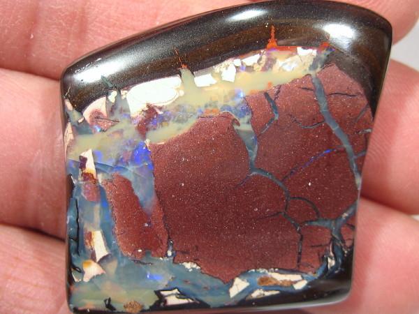 YowahCut- 123.80Cts Koroit Opal, Aust.> 'FREE DRILLING'