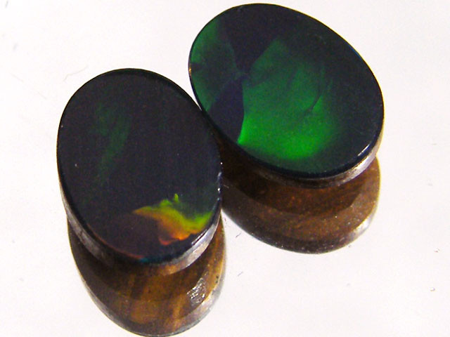 PAIR ETHIOPIAN DOUBLETS 1.75 CTS  MY1002