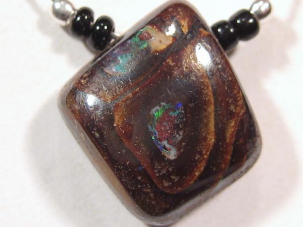 YOWAHOPALS*10.30Cts Necklace- Large Boulder Opal