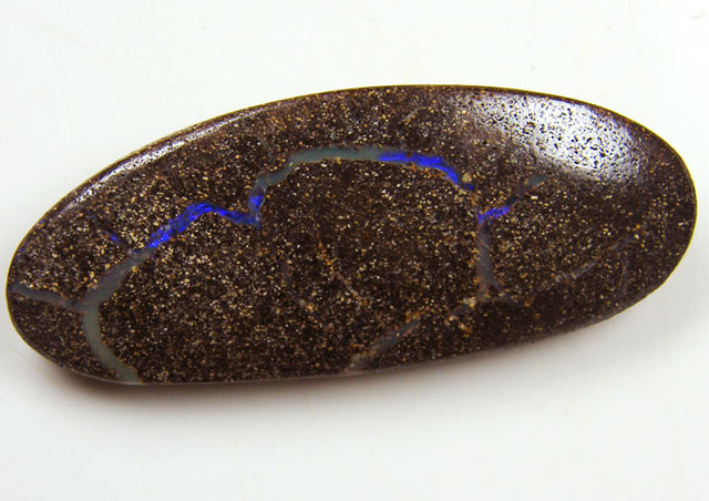 PURPLE VEINED  BOULDER OPAL 52 CTS  MM 1390