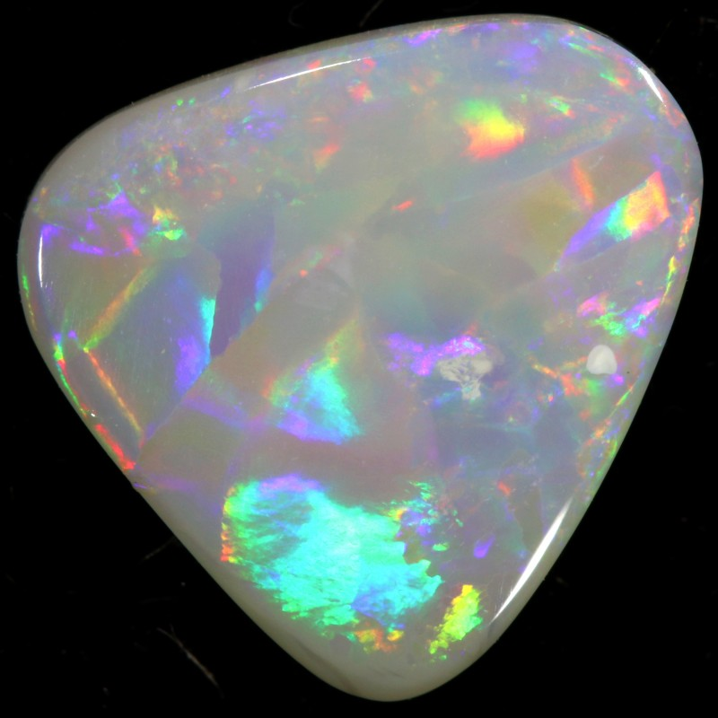 BLACK OPAL FROM DOWN UNDER AUSTRALIA FIREY STONE 1.20 CTS A2104