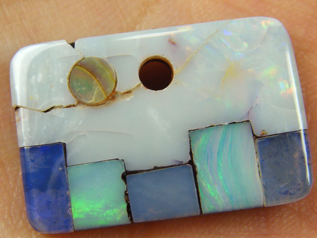 FULL FAC E  OPAL  INLAY  24  CTS  MM 1529