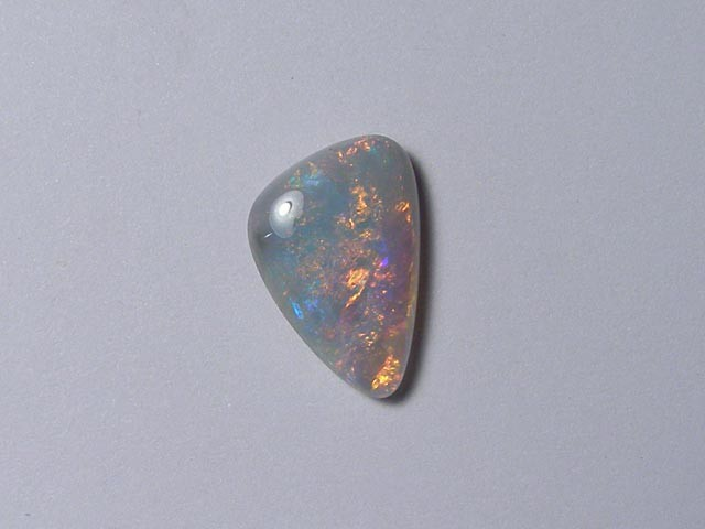 RED/BLUE FREEFORM OPAL FROM COOBER PEDY 2.00ct - #OA710995