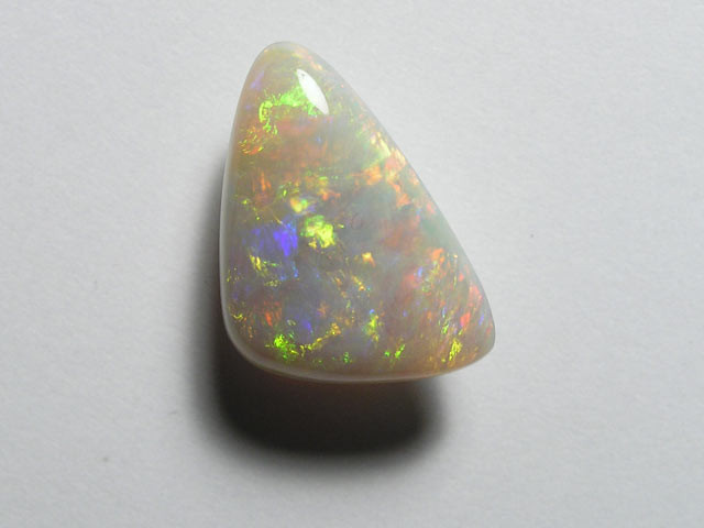 BROAD FLASH RED/GOLD CRYSTAL OPAL 3.10ct - #OA711057