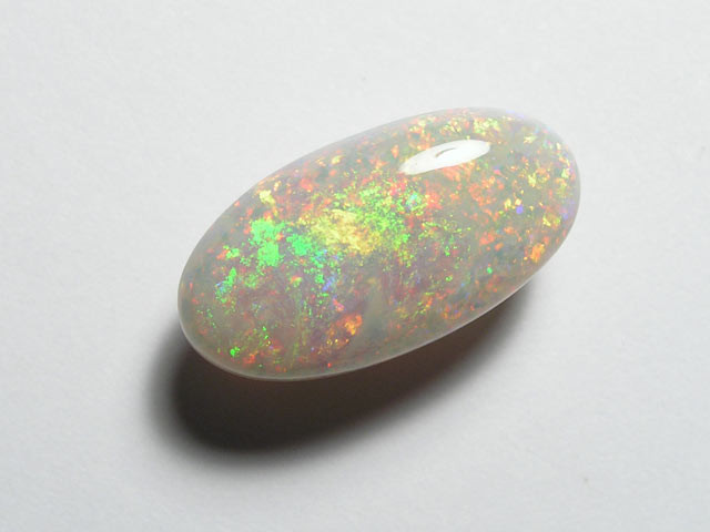 RED CRYSTAL OPAL FROM COOBER PEDY - 5.40ct - #OA711062