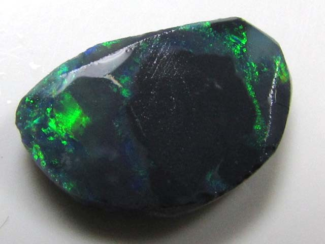 N1 RUBBED RIDGE OPAL READY TO POLISH 5.10  CTS QOM 258